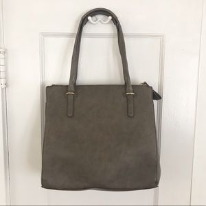 Kate Landry Tote Purse with Blue Liner